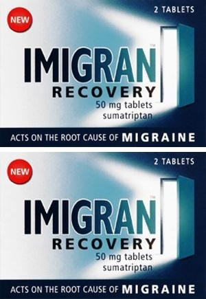 Imigran Recovery Tablets 50mg Twin Pack