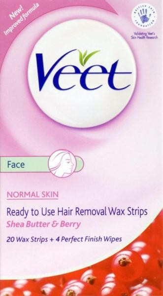 Veet Cold Wax Face Strips