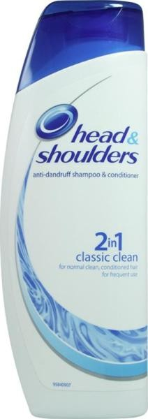 Head & Shoulders Classic Clean 2-in-1 Shampoo & Conditioner – 200ml