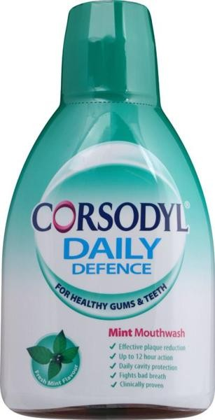 Corsodyl Daily Defence Mouthwash – 500ml
