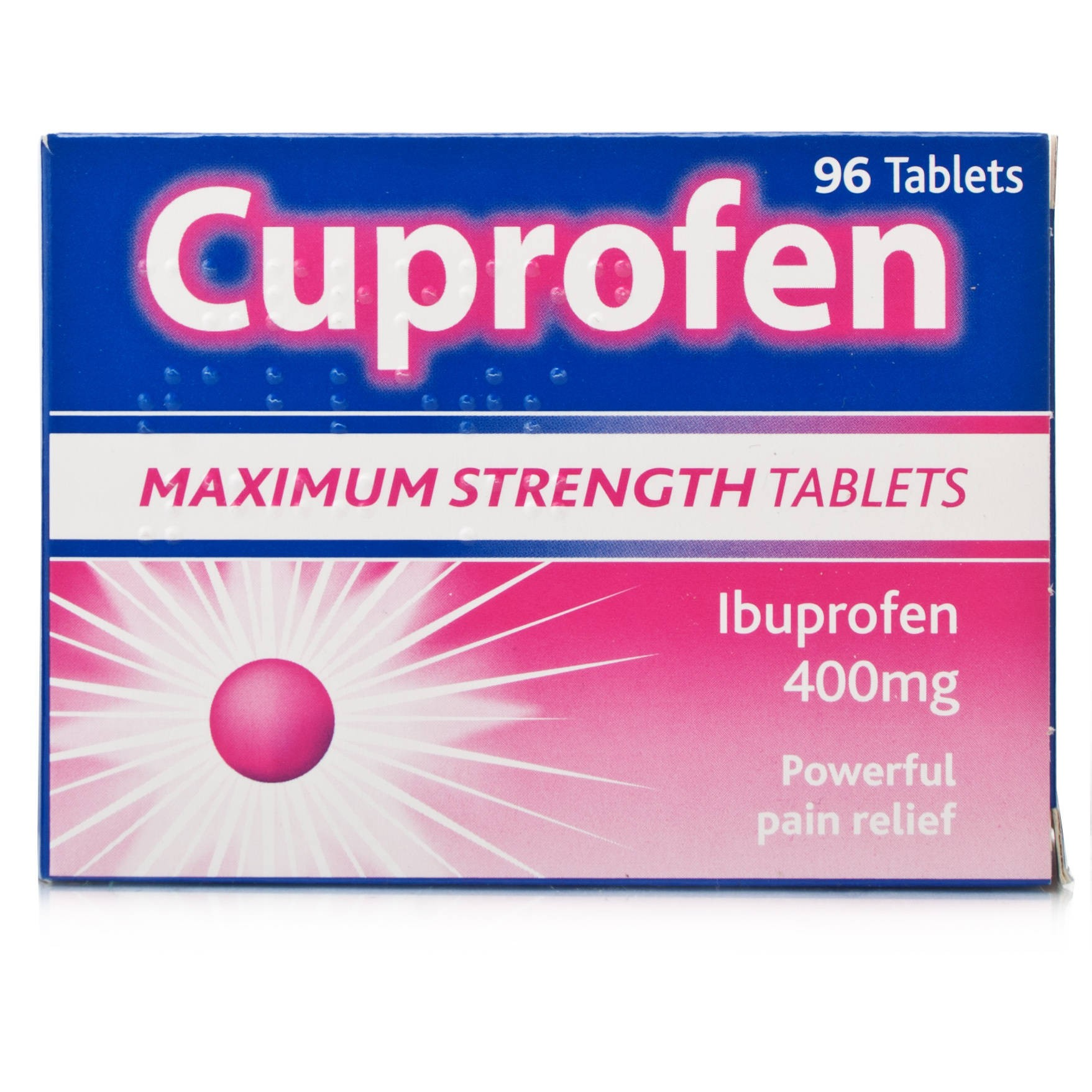 Cuprofen Maximum Strength Tabs