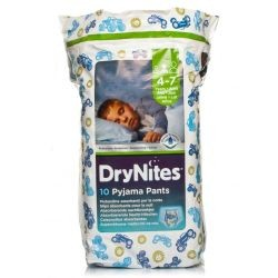 Huggies Drynites Pyjama Pants Boys 4-7 Years