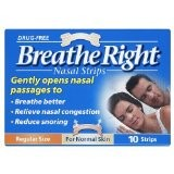 Breathe Right Clear Large Nasal Strips