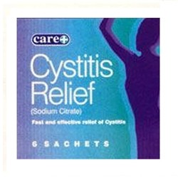 Care+ Cystitis Relief Sachets