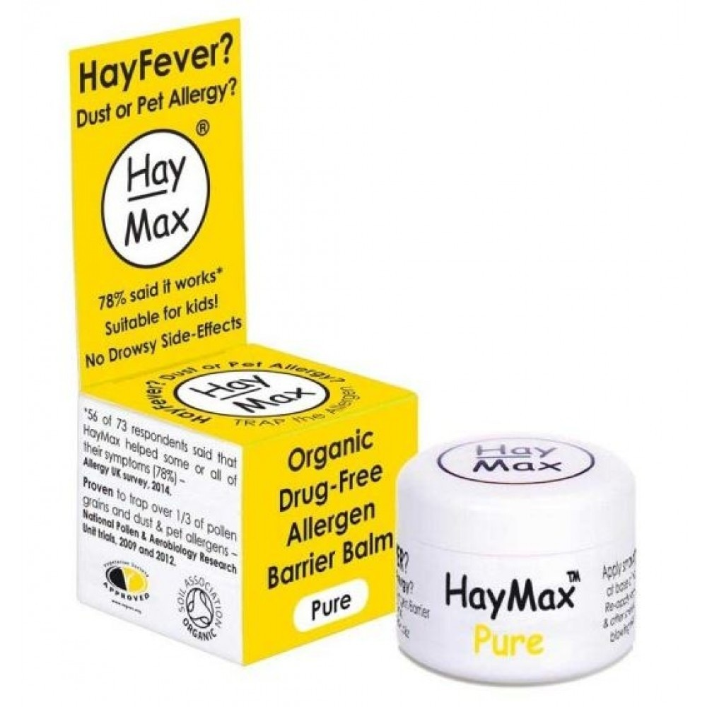 HayMax Pure Organic Drug-Free Allergen Barrier Balm 5ml