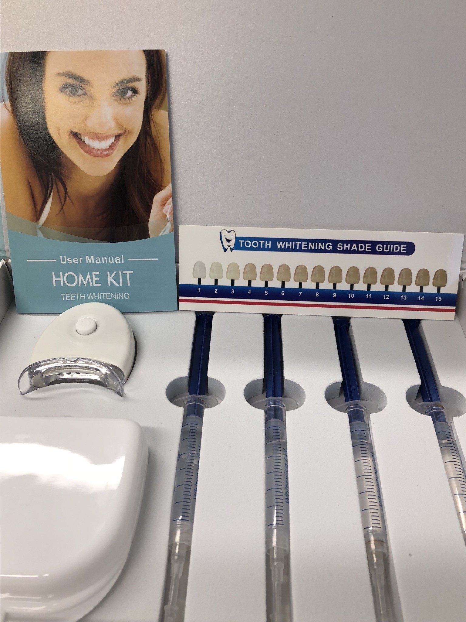 White Light Smile Home Teeth Whitening Kit