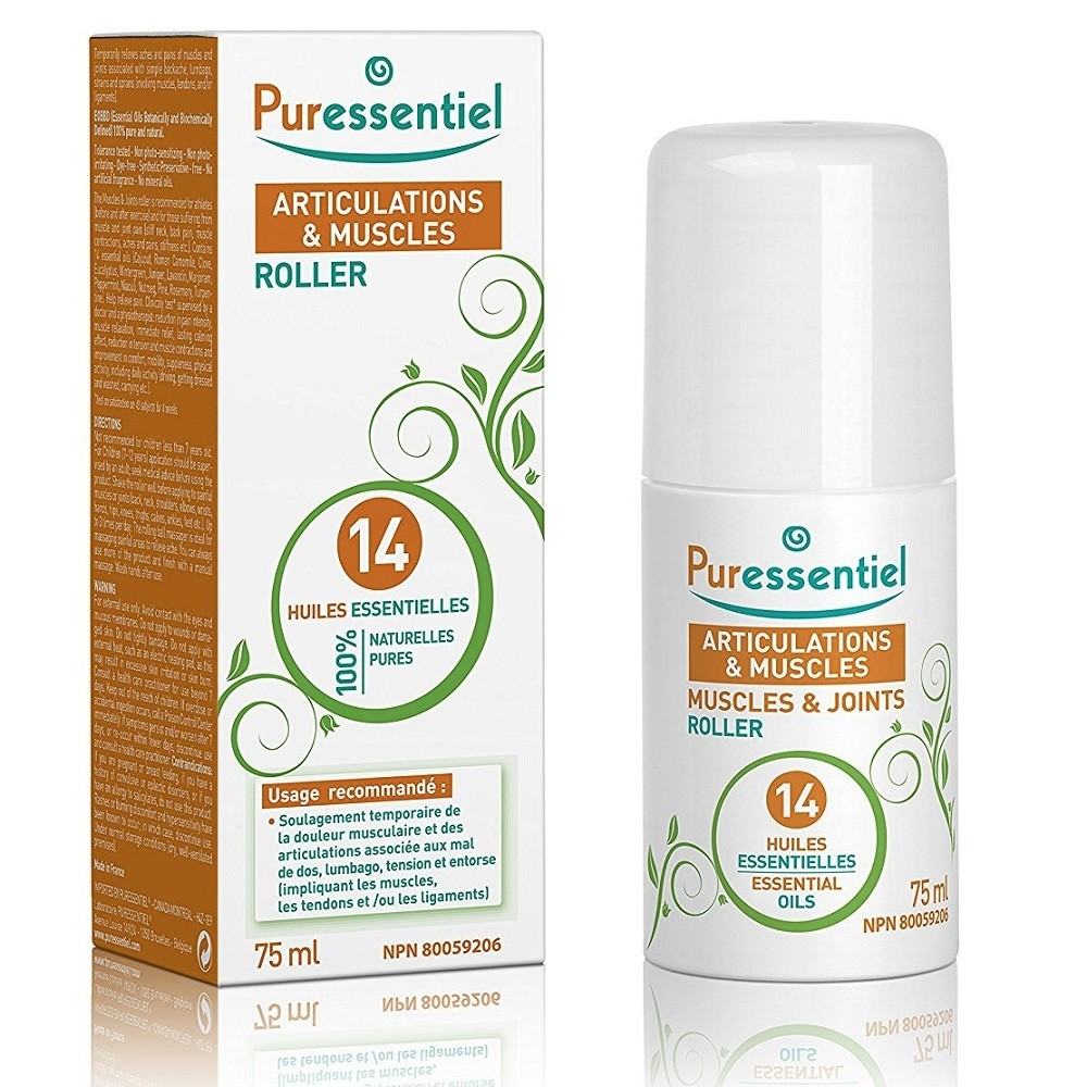 Puressentiel Muscles and Joints Roller 75 ml (Short Dated exp 09/18)