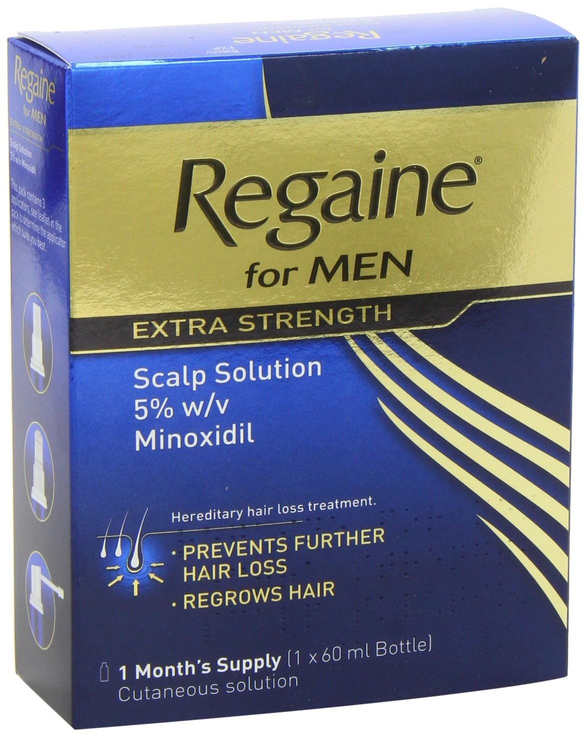 Regaine For Men Extra Strength Hair Regrowth Solution - 60ml