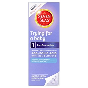 Seven Seas Trying for a Baby 28 pills - One Month Supply