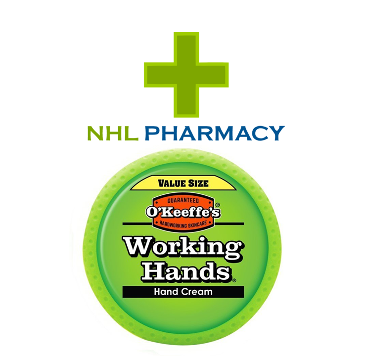 O'Keeffe's Working Hands Hand Cream Non-Greasy O'Keeffes for Cracked/Split Skin VALUE SIZE 193g