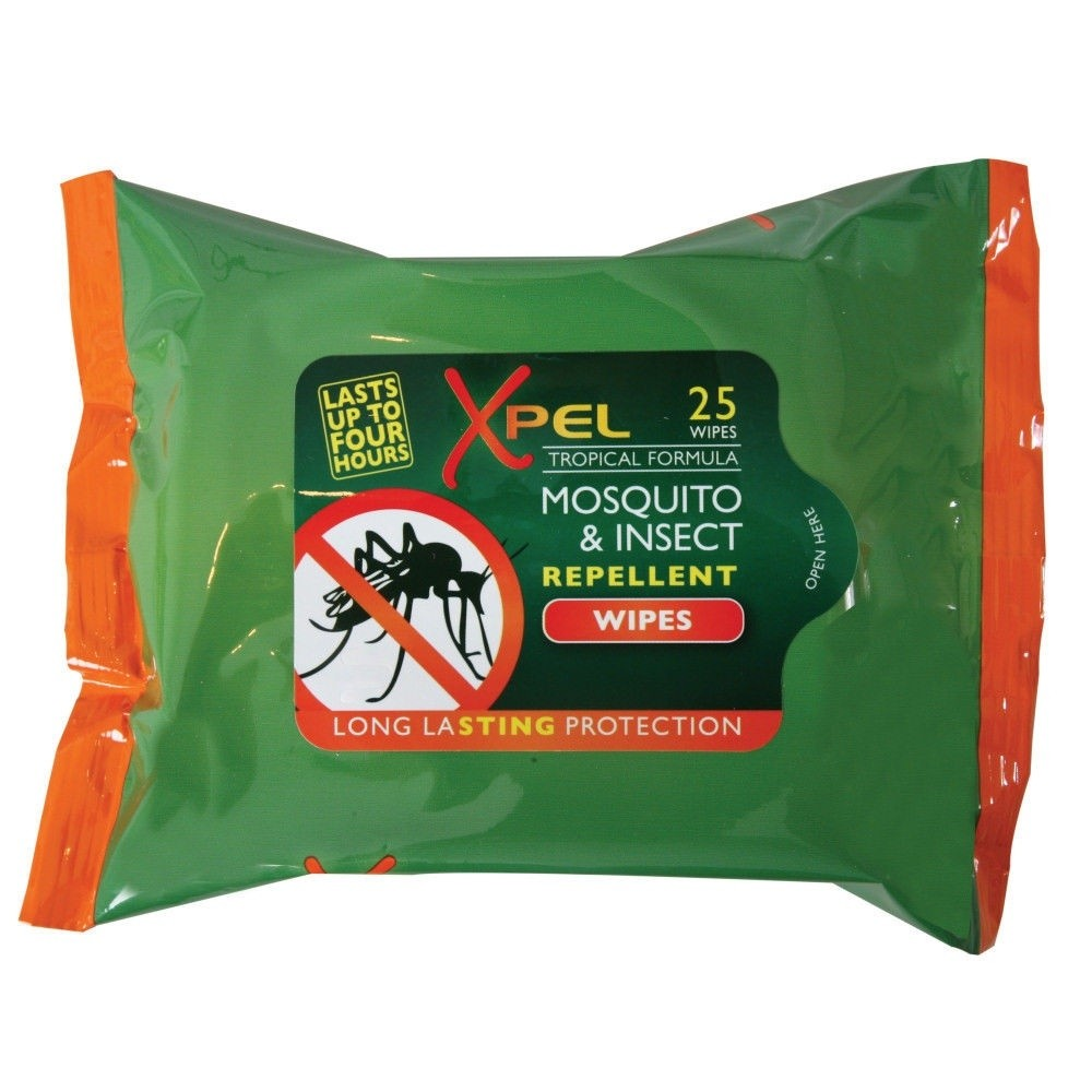 Xpel Mosquito & Insect Repellent 25 Wipes