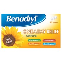 Benadryl Tablets One A Day 10mg