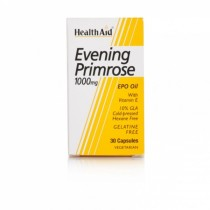 Healthaid Supplements Evening Primrose Oil & Vitamin E Capsules 1000mg – 30 Pack