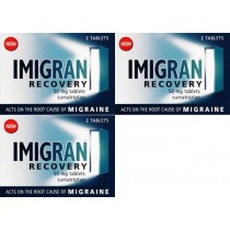 Imigran Recovery Tablets 50mg Triple Pack