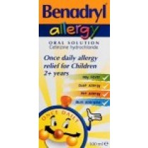 Benadryl Allergy Relief Solution
