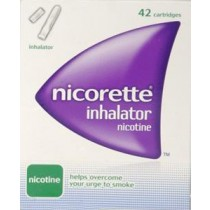 Nicorette Inhalator Refill Pack White Mouthpiece 10mg – 42 Pack