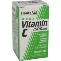 Healthaid Vitamin C Supplements Vit C Prolonged Release Tablets 1500mg – 30 Pack