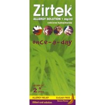 Zirtek Allergy Solution Once A Day – 150ml