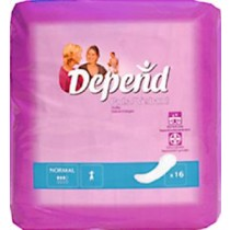 Depend Normal Incontinence Pads