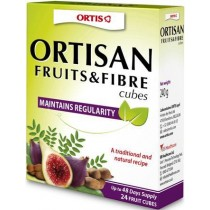 Ortisan Fruit & Fibre Natural Laxatives