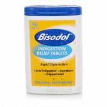 Bisodol Original Peppermint Tablets – 30 Pack