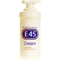 E45 Pump Dispenser Skin Cream – 500g
