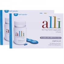 Alli Weight Loss Capsule 60mg- 84 Twin Pack