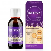 Benenox Overnight Recharge Blackcurrant Flavour 135ml