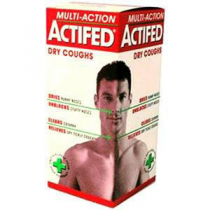 Actifed Multi Action Dry Cough Medicine 100ml