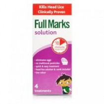Full Marks Head Lice Solution – 200ml