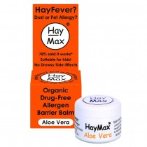 HayMax Aloe Vera Organic Drug-Free Allergen Barrier Balm 5ml