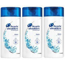 Head & Shoulders Classic Clean Travel Shampoo – Triple Pack