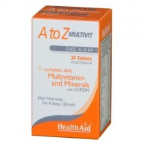 Healthaid Multivitamin & Mineral Supplements A-Z Tablets – 30 Pack
