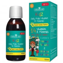 Kidz Daily Multi-Vitamin & Minerals (Natural Banana Flavour)
