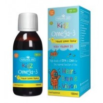 Kidz Omega-3 With Vitamin D3 (Natural Lemon Flavour)