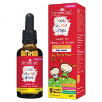 Kidz Multi Vitamin Drops (Orange Flavour)