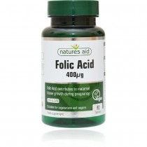 Natures Aid Folic Acid 400 ug 90 Tablets