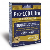 Natures Aid Pro-100 Ultra (100 Billion Bacteria) 30 Capsules