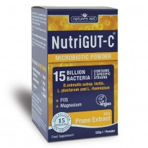 Natures Aid NutriGUT-C (15 Billion Bacteria) 120g