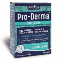Natures Aid Pro-Derma (15 Billion Bacteria) 60 Capsules