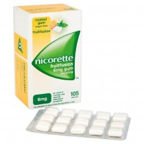Nicorette Fruit Fusion 2mg  105p