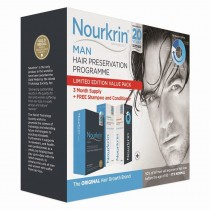 Nourkrin Man 3 Months PROMO PACK - 180 Tablets + FREE Shampoo & Conditioner