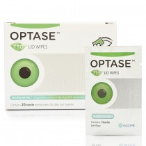 Optase Tea Tree Oil Lid Wipes 20 packs