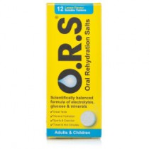 Ors Rehydration Salts Lemon