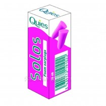 Quies Solos Foam Earplugs (Pink)