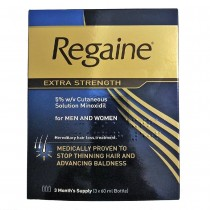 Regaine Extra Solution Strength For Men 3 month supply 3x60ml