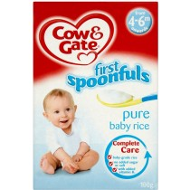 Cow & Gate First Spoonfuls Pure Baby Rice 4-6 month plus 100g