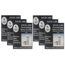 Stud 100 Desensitizing Spray For Men Six Pack