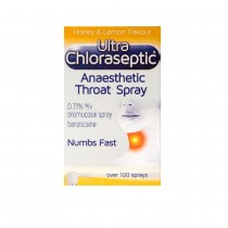 Ultra Chloraseptic Anaesthetic Throat Spray 15ml Honey & Lemon Flavour
