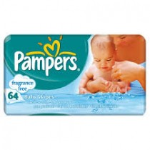 Pampers Unscented Baby Wipes